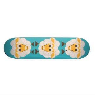Sleep-Sheep - LONVIG by MINYMO Skate Board Deck