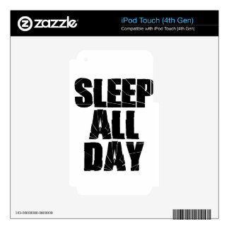sleep skins for iPod touch 4G