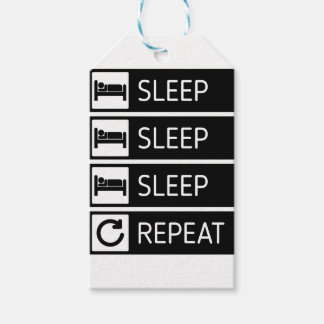 Sleep Sleep Sleep Repeat Gift Tags