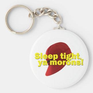 Sleep Tight Basic Round Button Keychain