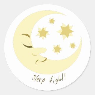 Sleep Tight Classic Round Sticker