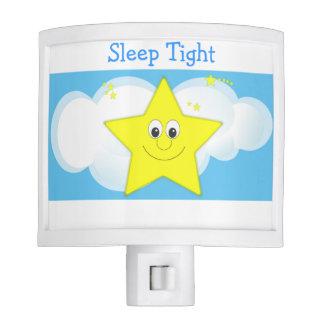 Sleep Tight Cute Stars and Clouds Night Time Baby Night Light