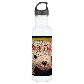 'Sleep Tight (evil teddy bear)' Aluminum Liberty B Stainless Steel Water Bottle