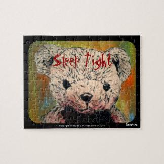 'Sleep Tight' (Evil Teddy Bear) Jigsaw Puzzle