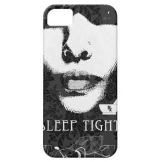 Sleep Tight Jane Black and white iPhone 5 Cover