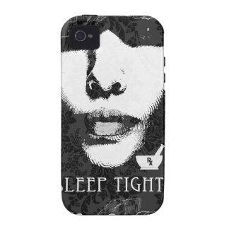 Sleep Tight Jane Black and white iPhone 4 Case