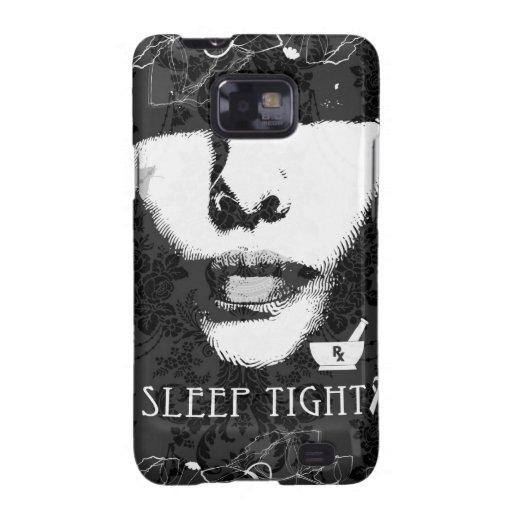 Sleep Tight Jane. Black and white. Samsung Galaxy SII Cover