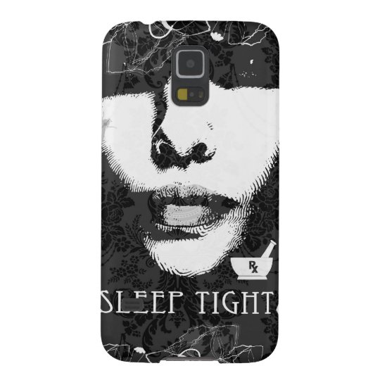 Sleep Tight Jane. Black and white. Galaxy S5 Cover