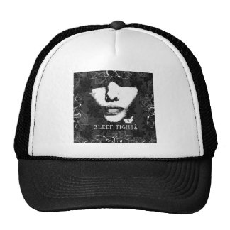 Sleep Tight Jane. Black and white. Trucker Hat