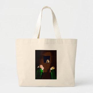 Sleep tight jumbo tote bag