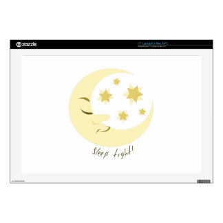 """Sleep Tight Decals For 17"""" Laptops"""