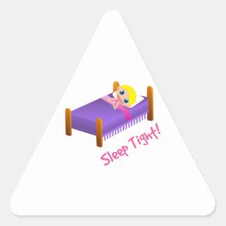 Sleep Tight Triangle Sticker