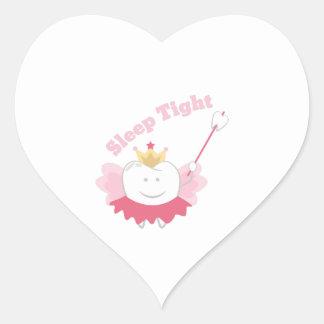Sleep Tight Heart Sticker