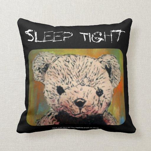 'Sleep Tight' (Throw) American MoJo Pillow