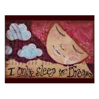 """Sleep to Dream"" Postcard"