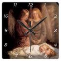 Sleep - Two guardian angels and children Square Wall Clock (<em>$31.65</em>)
