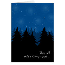 Sleep Well Under Blanket of Stars for Kids at Camp