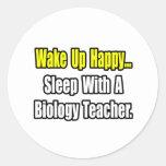 Sleep With A Biology Teacher Stickers
