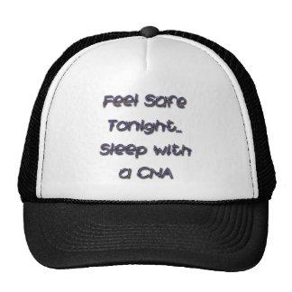 sleep with a CNA Trucker Hat