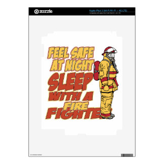 Sleep with a Firefighter Decal For iPad 3