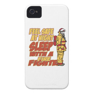 Sleep with a Firefighter iPhone 4 Case-Mate Case