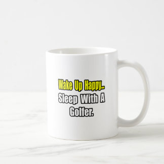 Sleep With a Golfer Mugs