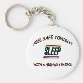 SLEEP WITH A HIGHWAY PARTOL KEY CHAIN
