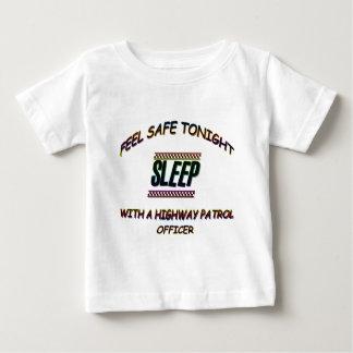 SLEEP WITH A HIGHWAY PATROL BABY T-Shirt