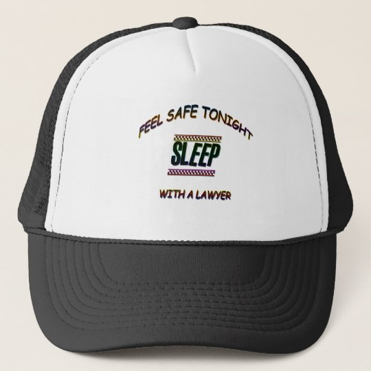 SLEEP WITH A LAWYER TRUCKER HAT