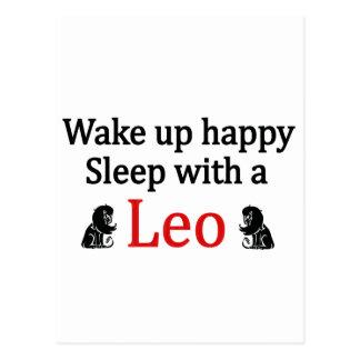 Sleep With a Leo Postcards
