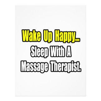 Sleep With A Massage Therapist Flyer