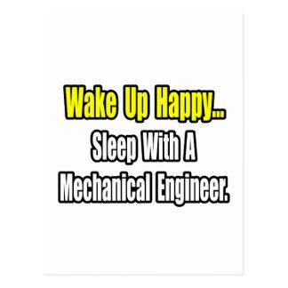 Sleep With A Mechanical Engineer Postcard