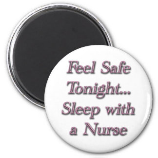 sleep with a nures 2 inch round magnet