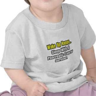 Sleep With a Pancreatic Cancer Survivor T-shirt