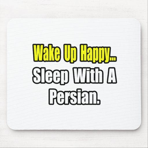 Sleep With a Persian Mouse Pad