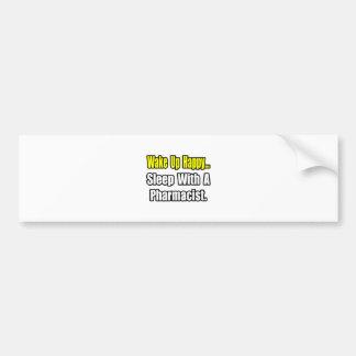 Sleep With a Pharmacist Bumper Sticker