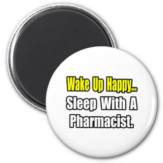 Sleep With a Pharmacist 2 Inch Round Magnet