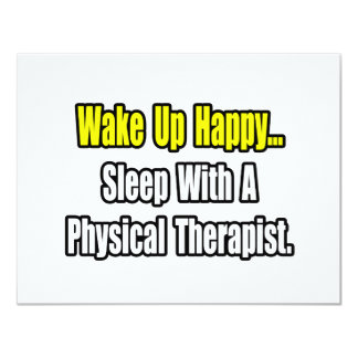 Sleep With A Physical Therapist Custom Announcements