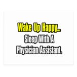 Sleep With A Physician Assistant Postcards