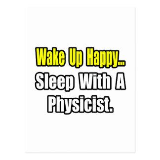 Sleep With a Physicist Postcard
