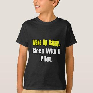 Sleep With A Pilot T-Shirt
