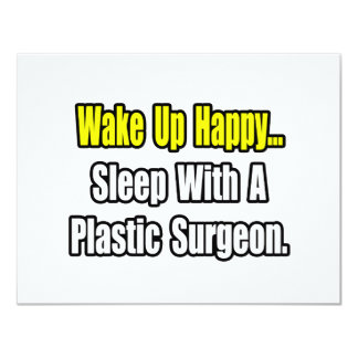 Sleep With A Plastic Surgeon Card