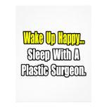 Sleep With A Plastic Surgeon Letterhead Template