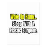 Sleep With A Plastic Surgeon Postcard