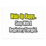 Sleep With A Respiratory Therapist Postcard