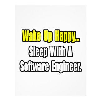 Sleep With A Software Engineer Custom Flyer