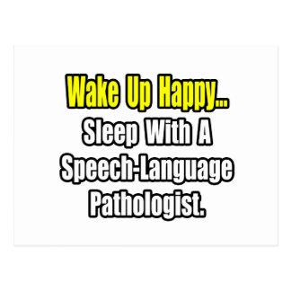 Sleep With A Speech-Language Pathologist Postcard
