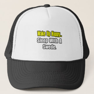 Sleep With a Swede Trucker Hat