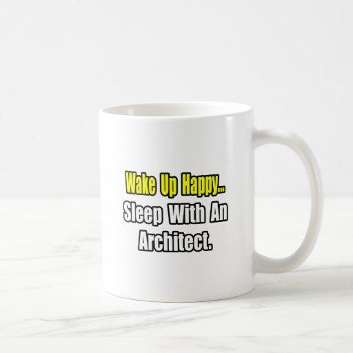 Sleep With an Architect Coffee Mug