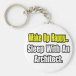 Sleep With an Architect Keychains